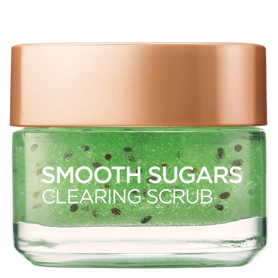 L'Oréal Paris Smooth Sugars Clearing Scrub Kiwi 50 ml