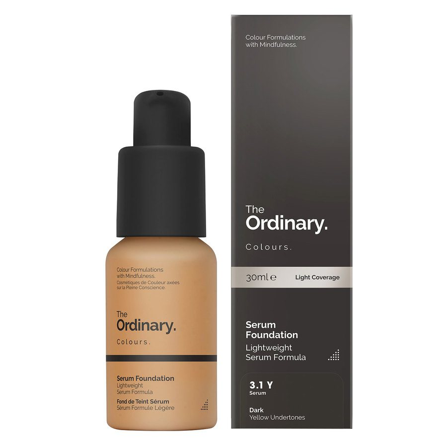 The Ordinary Serum Foundation 3.1 Y dark Yellow