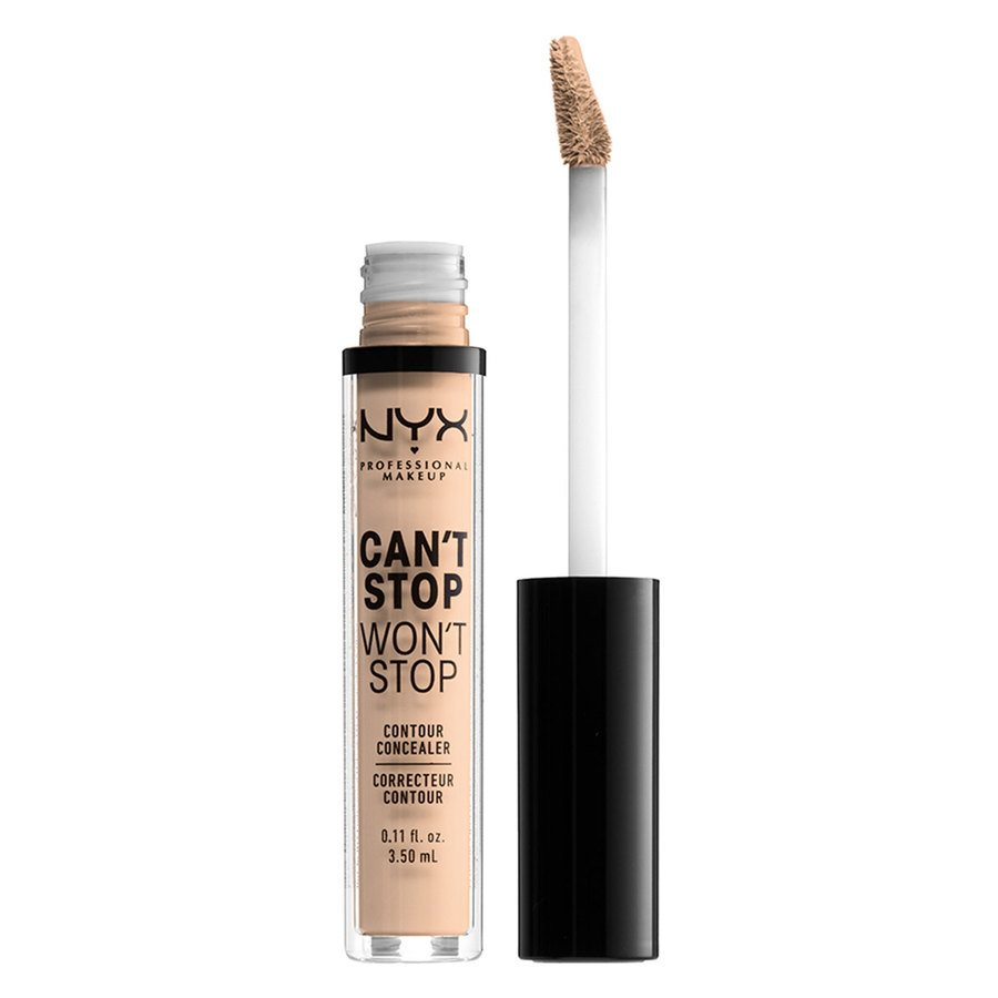 NYX Professional Makeup Can't' Stop Won't Stop Contour Concealer Vanilla 3,5 ml