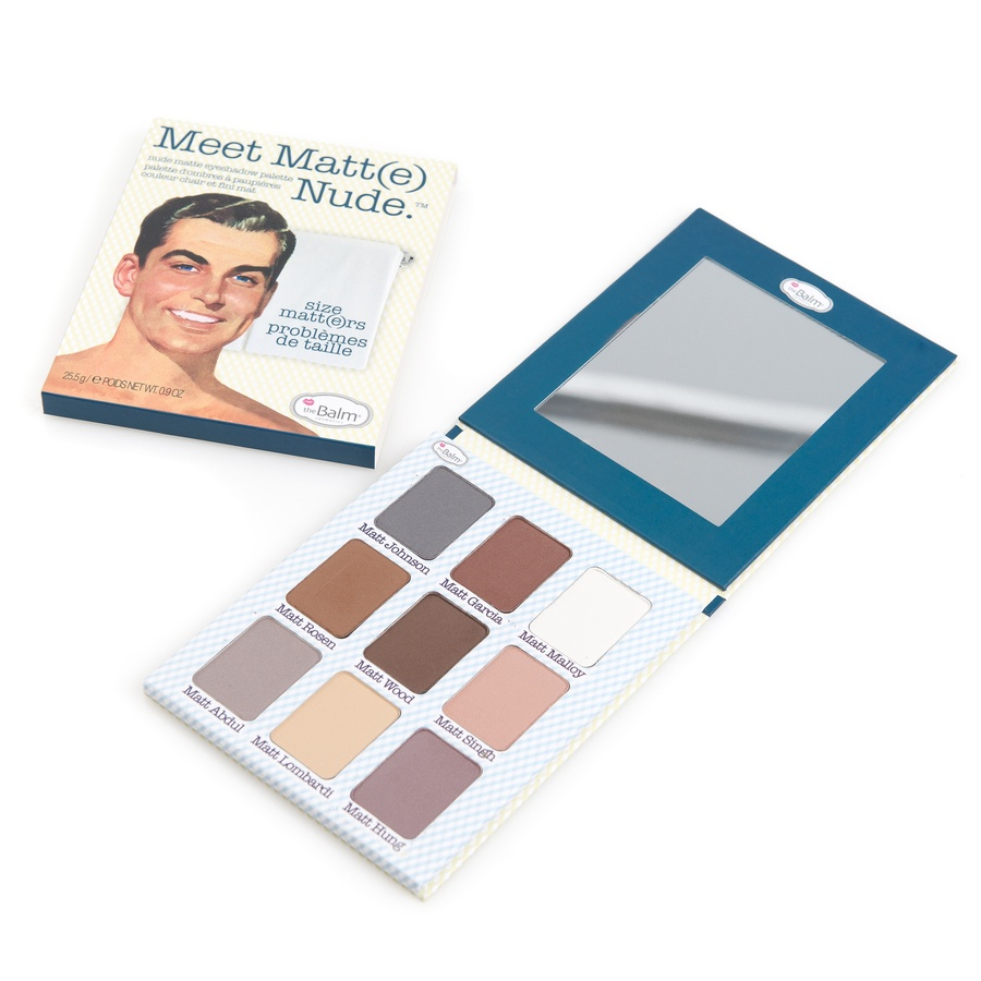 The Balm Meet Matt(e) Nude Eyeshadow Palette Set Med 9 Färger