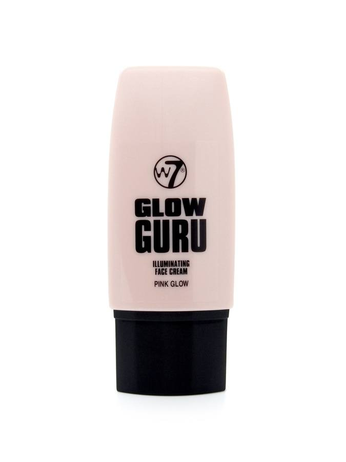 W7 Glow Guru Illuminating Face Cream Pink Glow 35 ml
