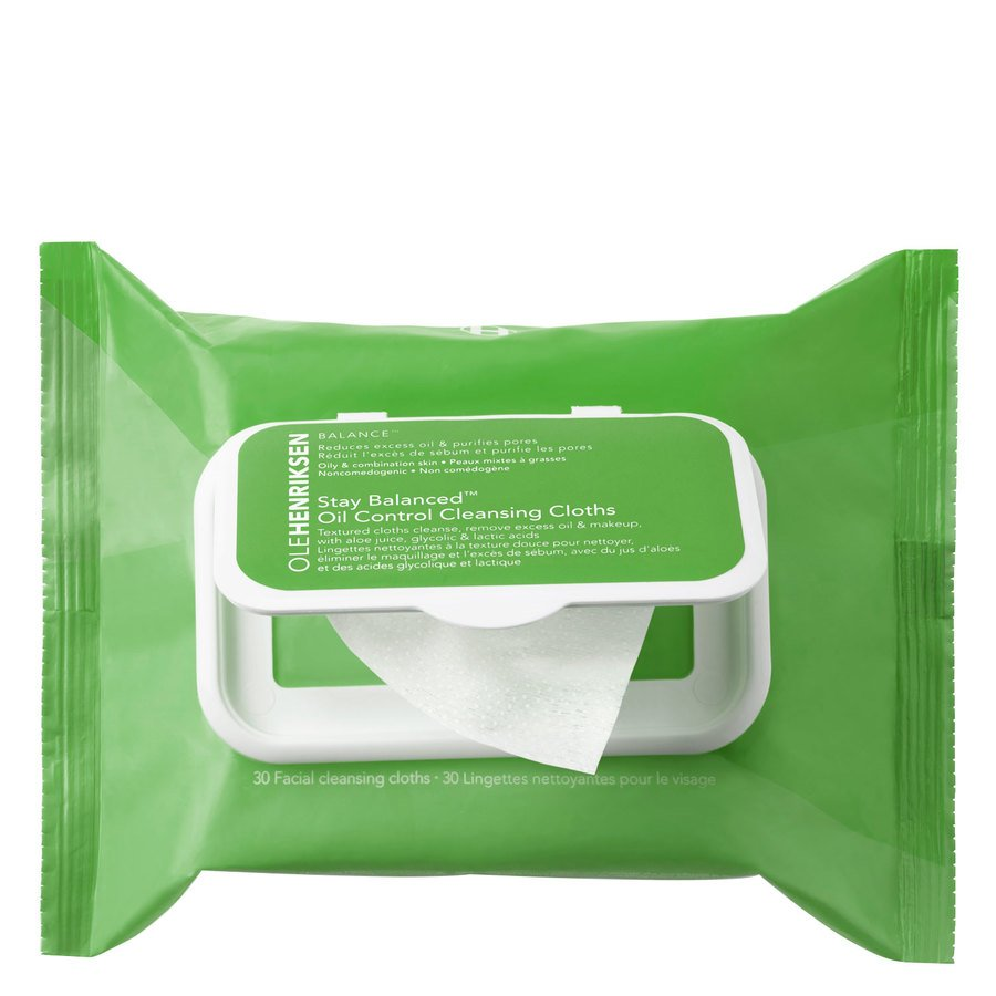 Ole Henriksen Stay Balanced Oil Control Cleansing Cloths 30ml