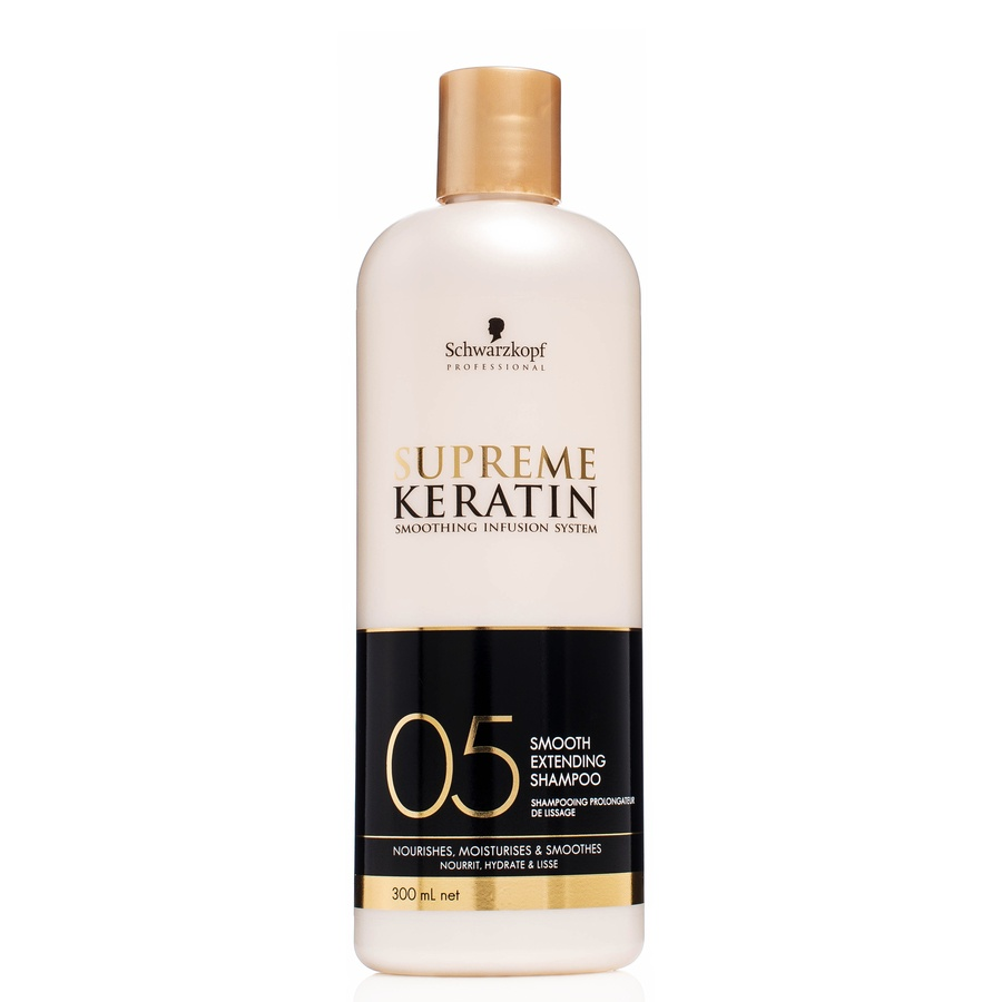 Schwarzkopf Supreme Keratin Smooth Extending Shampoo 300 ml