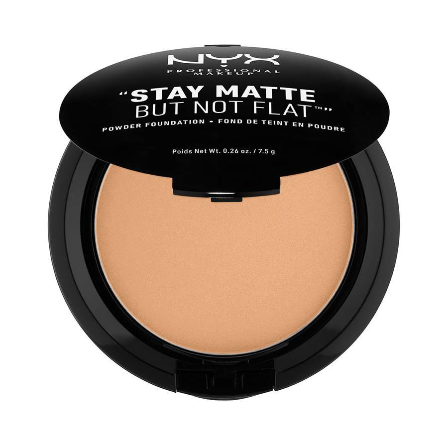 NYX Professional Makeup Stay Matte But Not Flat Powder Caramel