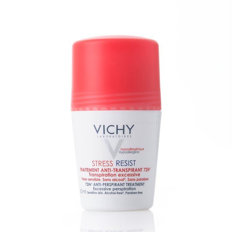 Vichy Antiperspirant Deodorant Roll-On 72 h Stress Resist, 50 ml