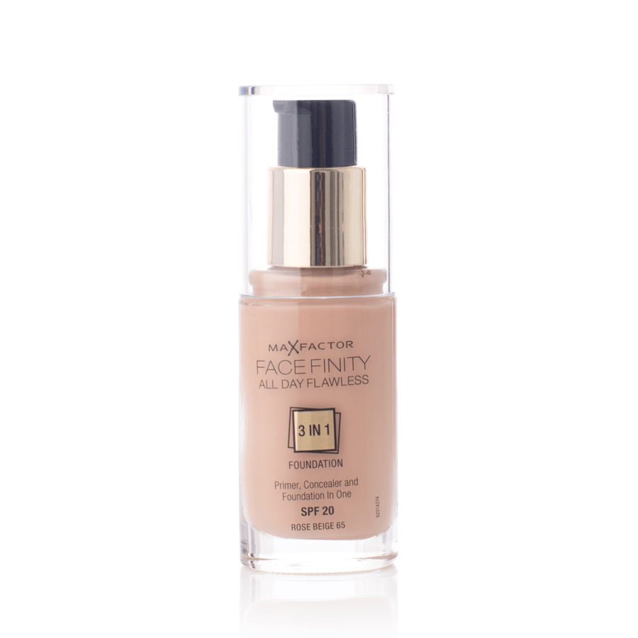Max Factor Facefinity 3 In 1 Foundation 65 Rose Beige 30 ml