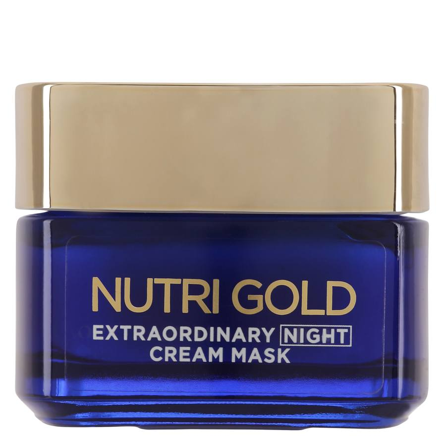 L'Oréal Paris Nutri Gold Extraordinary Night Cream Mask 50 ml