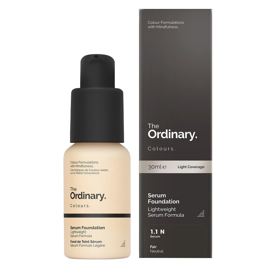 The Ordinary Serum Foundation 1.1 N fair Neutral