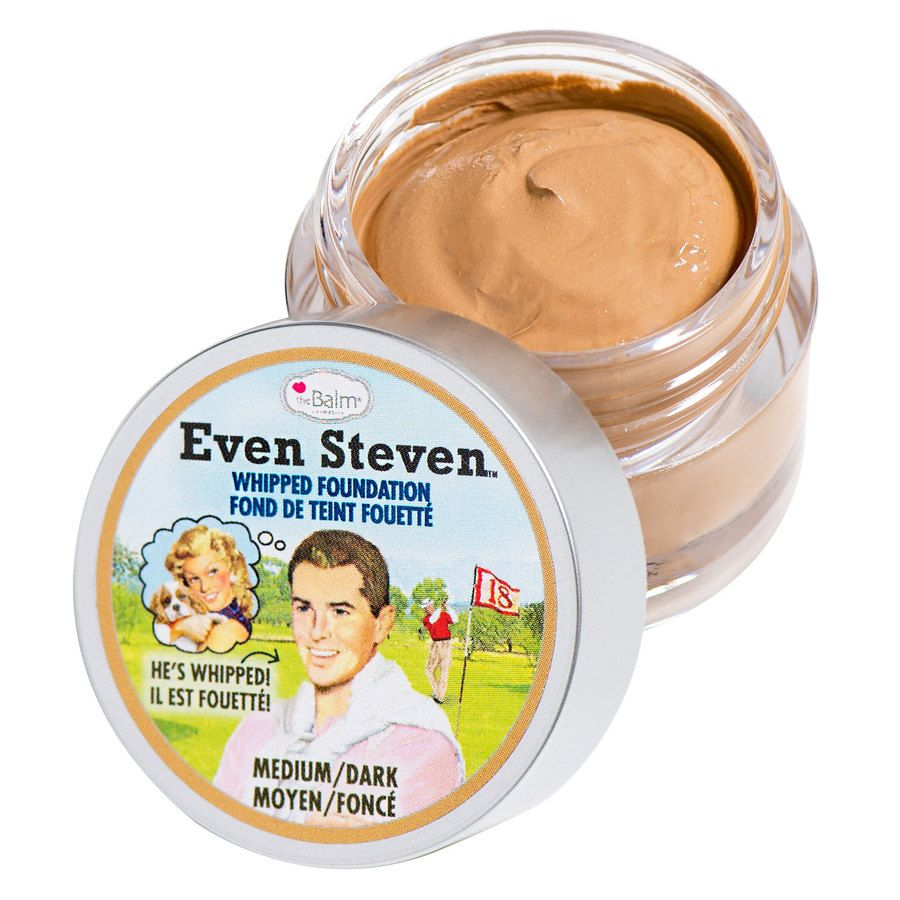 The Balm Even Steven Whipped Foundation Medium/Dark 13,4ml