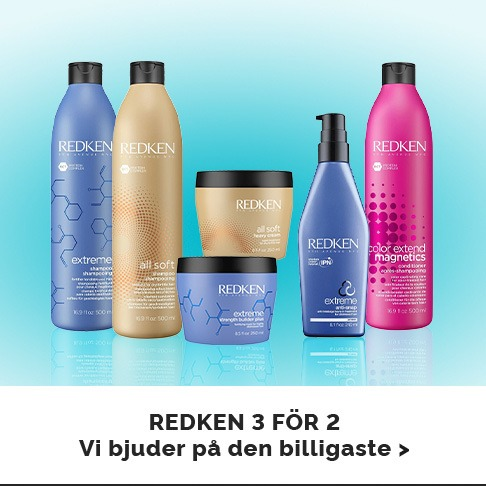 Redken 3 for 2 – Vi bjuder på den billligaste